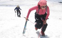 Suzanne on Mt. Elbrus